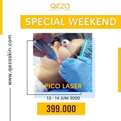 QEZA CLINIC PROMO PICO LASER SPECIAL SUNDAY (26486391) di Kota Jakarta Selatan