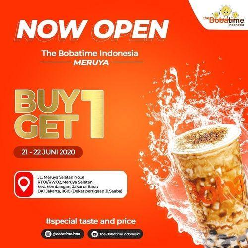 The Bobatime Opening Promo Buy 1 Get 1 (26486819) di Kota Jakarta Selatan