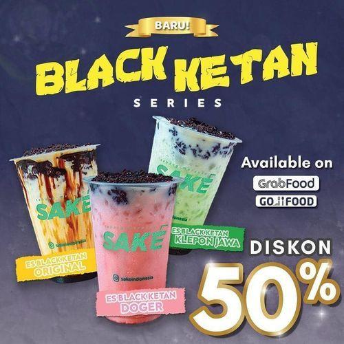 SAKE DISKON 50% BLACK KETAN SERIES (26487415) di Kota Jakarta Selatan