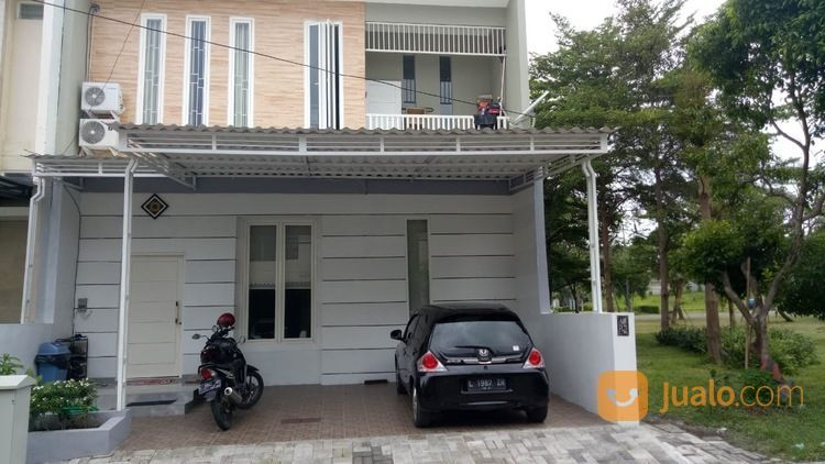 Rumah Minimalis Alam Hijau F1 Citraland 2 Lantai Furnished (26489047) di Kota Surabaya