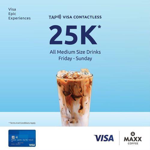 MAXX COFFEE X VISA PROMO WEEKEND (26489091) di Kota Jakarta Selatan