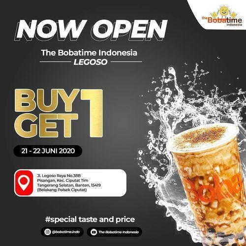 THE BOBATIME BUY 1 GET 1 (26489683) di Kota Jakarta Selatan
