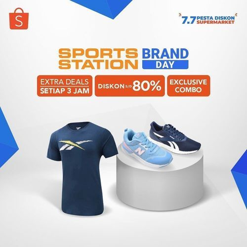 Sport Station Brand Day 80% Discount (26492079) di Kota Jakarta Selatan