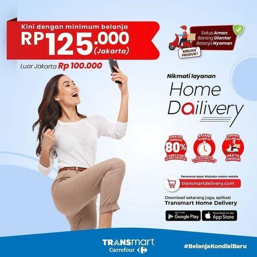 Transmart Carrefour Home Delivery (26492083) di Kota Jakarta Selatan