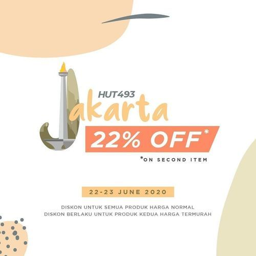 Beatrice Clothing Special Discount 22% Off (26492127) di Kota Jakarta Selatan