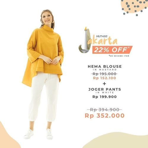 Beatrice Clothing Special Discount 22% Off (26492135) di Kota Jakarta Selatan