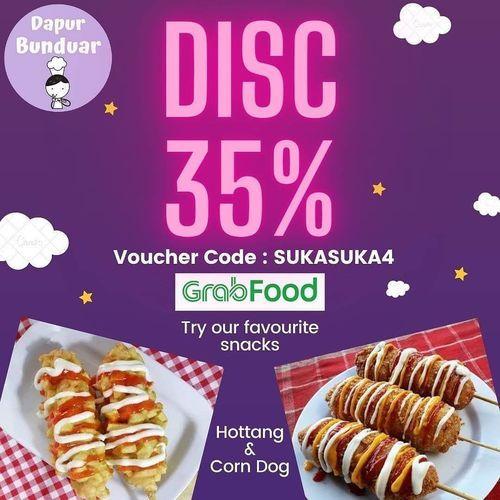 DAPUR BUNDUAR Promo Grabfood Disc. 35% (26504419) di Kota Surabaya