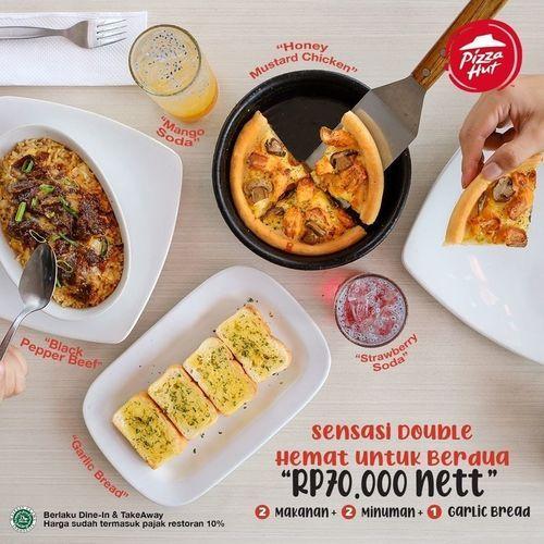 PIZZA HUT PROMO DAPATKAN 1 GARLIC BREAD GRATIS (26505175) di Kota Jakarta Selatan