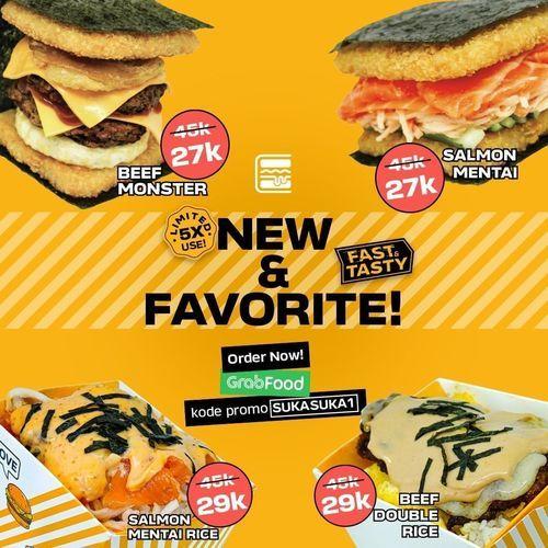 Burgushi New & Favorit Promo Special Price (26509815) di Kota Jakarta Selatan