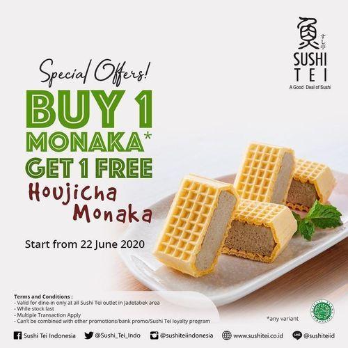 Sushi Tei Special Offers Buy 1 Monaka Get 1 Free Houjicha Monaka (26509871) di Kota Jakarta Selatan