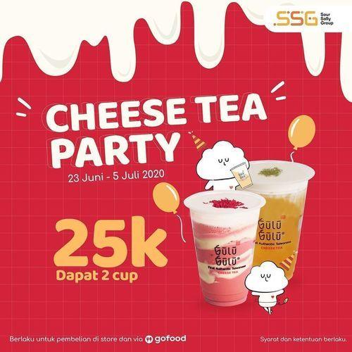 Gulu Gulu Cheese Tea Party 25K (26514123) di Kota Jakarta Selatan