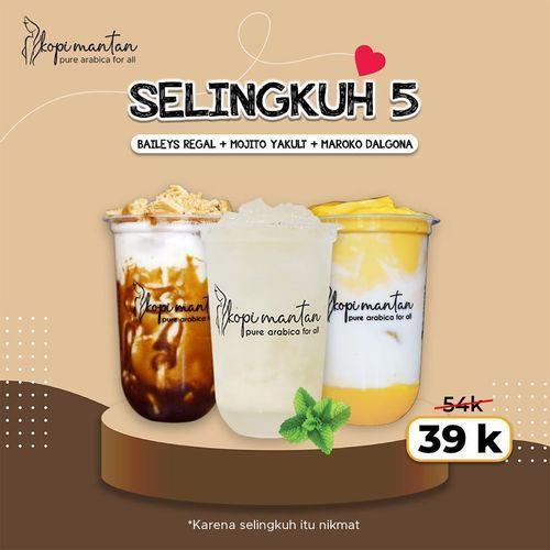 Kopi Mantan Promo 3 For 39K (26514279) di Kota Jakarta Selatan