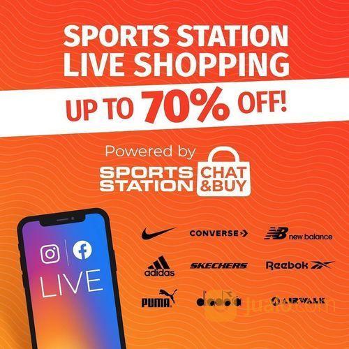 Sports Station Diskon Up To 70% (26519267) di Kota Jakarta Selatan