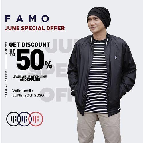 FAMO June Special Offer 50% Discount (26519283) di Kota Jakarta Selatan