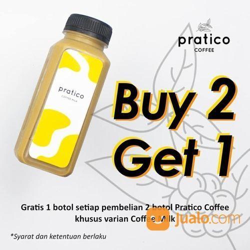 PRATICO COFFEE Beli 2 gratis 1 khusus untuk varian Coffee Milk (26521019) di Kota Jakarta Selatan