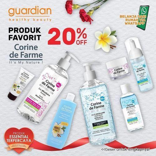 GUARDIAN PROMO Corine de Farme diskon 20% (26521127) di Kota Jakarta Selatan