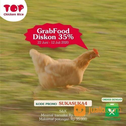 TOP CHICKEN RICE GRABFOOD DISKON 35% (26521155) di Kota Jakarta Selatan