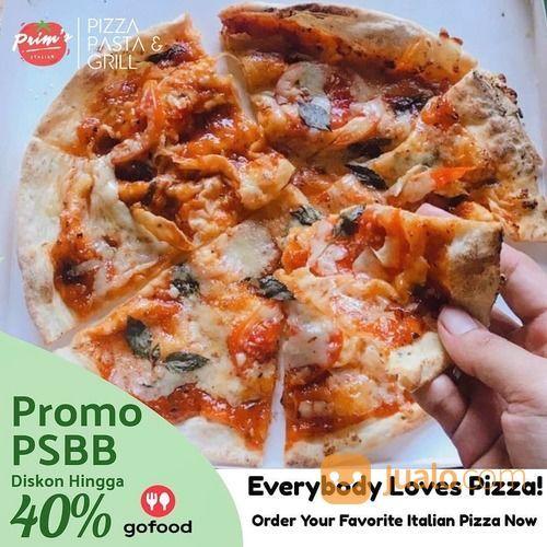 ITALIAN PIZZA BALIKPAPAN PROMO PSBB DISKON HINGGA 40% GOFOOD (26521323) di Kota Jakarta Selatan