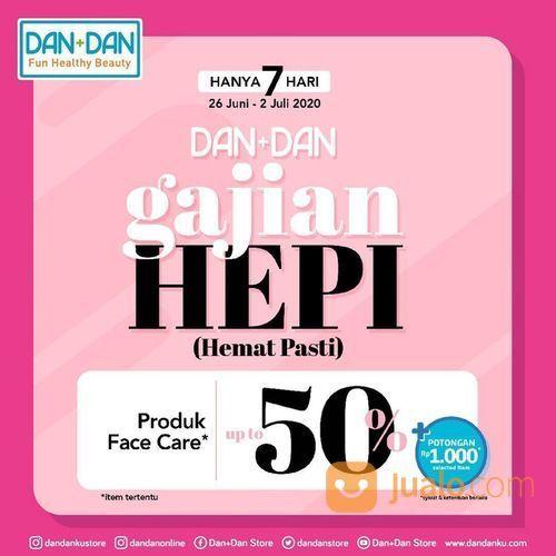 DAN+DAN PROMO Diskon up to 50% spesial untuk produk face care (26521347) di Kota Jakarta Selatan