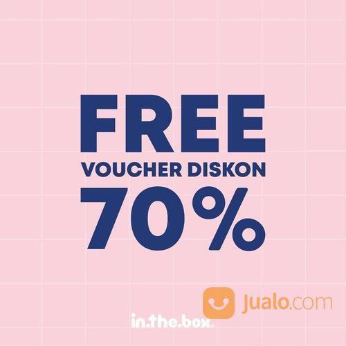 INTHEBOX 10 Voucher Diskon 70% dari INTHEBOX untuk 10 pemenang (26521359) di Kota Jakarta Selatan