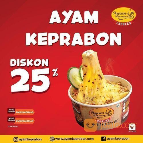 AYAM KEPRABON SURABAYA DISKON 25% (26521475) di Kota Surabaya