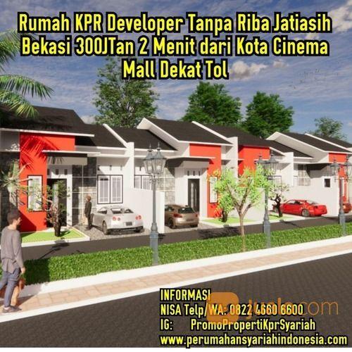 Dekat Jakarta, Kota Cinema Mall Rumah 350JT Jatiasih Bekasi SHM KPR Pribadi (26530775) di Kota Bekasi