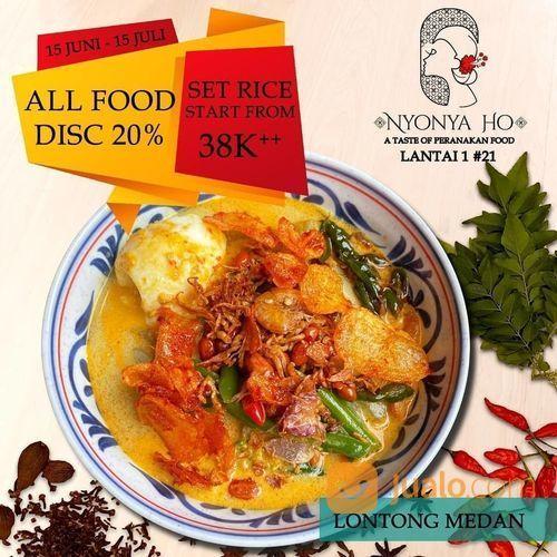 NYONYAHO PROMO ALL FOOD DISC. 20% (26534531) di Kota Jakarta Selatan