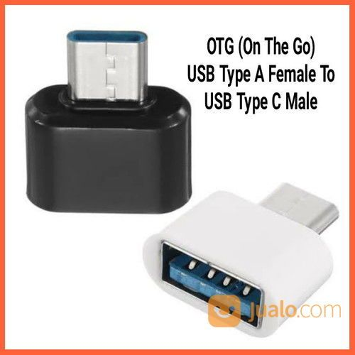 OTG (On The Go) USB Type A Female To USB Type C Male (26536663) di Kab. Grobogan