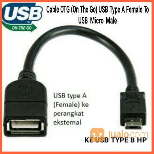 Kabel OTG (On The Go) USB Type A Female To USB Micro Male (26536775) di Kab. Grobogan