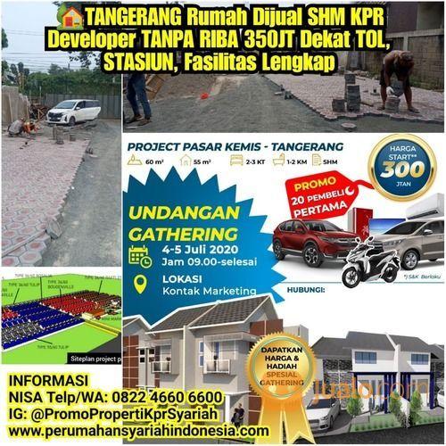 Rumah Minimalis 1 Lantai 350JT TANGERANG Pasar Kemis KPR Tanpa Bi Checking (26547435) di Kab. Bekasi