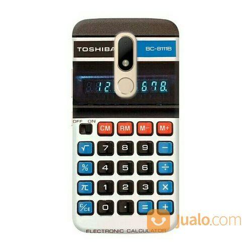Printed Calculator Motorola M Custom Hard Case (26552487) di Kota Bekasi