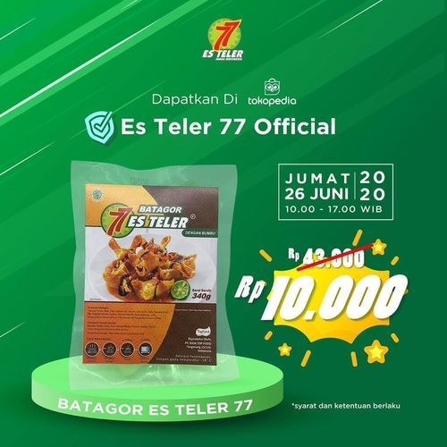 ES TELER 77 PROMO BATAGOR HARI INI (26578791) di Kota Jakarta Selatan