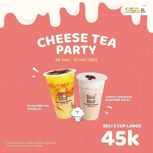Gulu Gulu Cheese Tea Promo 45K For 2 (26579315) di Kota Jakarta Selatan