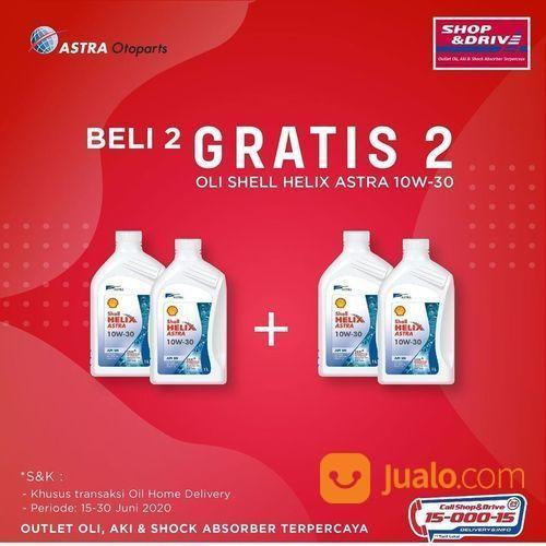 Shop & Drive Promo Oli Beli 2 Gratis 2 (26580527) di Kota Jakarta Selatan