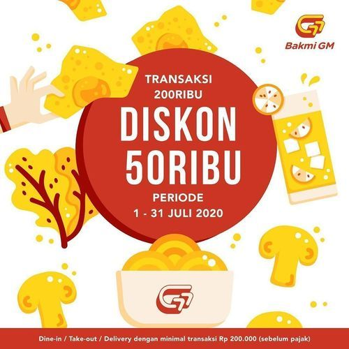 Bakmi GM Diskon 50Ribu (26628099) di Kota Jakarta Selatan