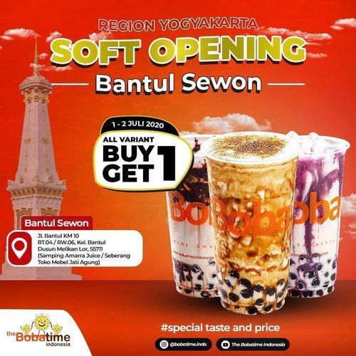 The Bobatime Indonesia Promo Opening Buy 1 Get 1 (26628715) di Kota Jakarta Selatan