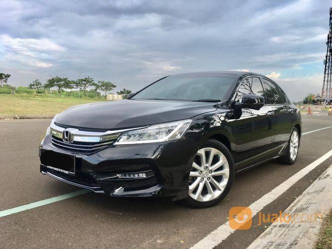 Honda Accord VTi L Matic 2017 Hitam KM 30.000 TERAWAT (26629051) di Kota Tangerang