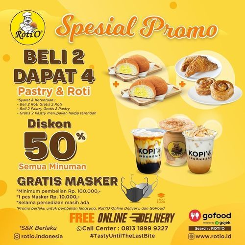 Roti'O Spesial Promo PSBB (26630027) di Kota Jakarta Selatan