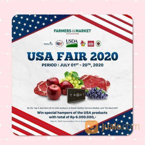 Farmers Market USA Fair 2020 (26632411) di Kota Jakarta Selatan