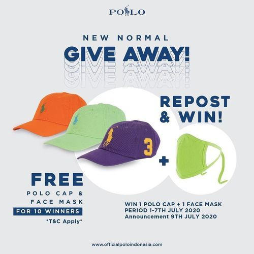 POLO Indonesia New Normal Giveaway (26632435) di Kota Jakarta Selatan