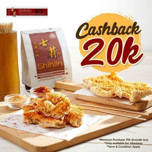 Shihlin Promo Cashback 20k (26633147) di Kota Jakarta Selatan