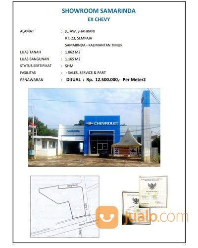 Gedung Ex Showroom SAMARINDA Lokasi Sempaja Tengah Kota Strategis SHM (26644715) di Kota Samarinda
