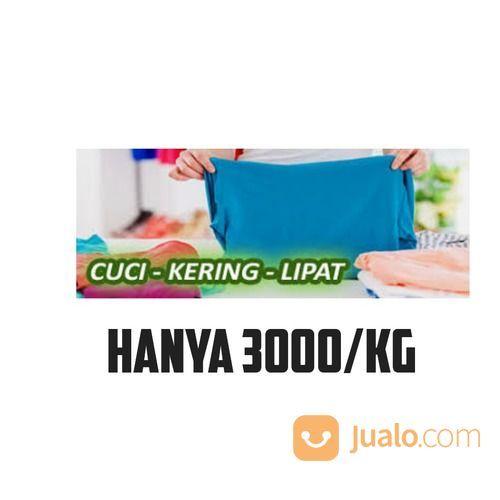 Cuci Kering Lipat Saja Tanpa Setrika (26661259) di Kota Pematang Siantar