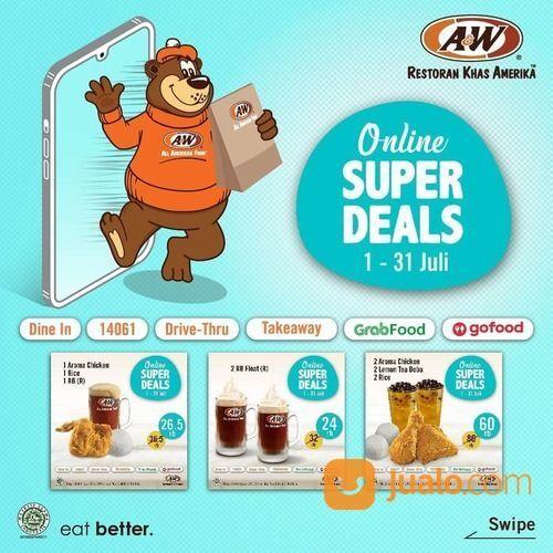 A&W Promo Hemat! Super Deals July! (26671291) di Kota Jakarta Selatan