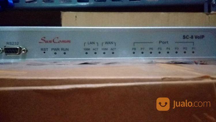 SUNCOMM SC-8 8 Port SIP / H.323 VoIP Gateway (8*FXO) - BEKAS (26676539) di Kota Jakarta Pusat