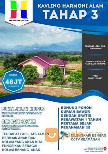 Kavling Harmoni Alam View Pegunungan Indah Harga Murah Bonus Pohon Durian (26685607) di Kab. Bogor
