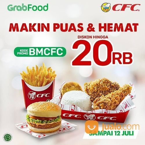 CFC PROMO VIA GOFOOD DISKON HINGGA 20RB (26685927) di Kota Jakarta Selatan