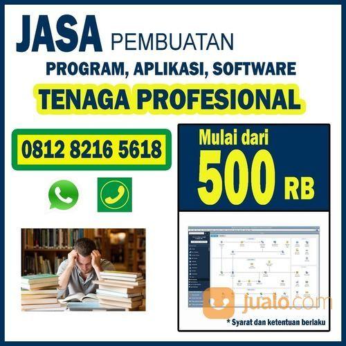 JASA PEMBUATAN PROGRAM APLIKASI SOFTWARE WEBSITE BEKASI (26690255) di Kota Bekasi