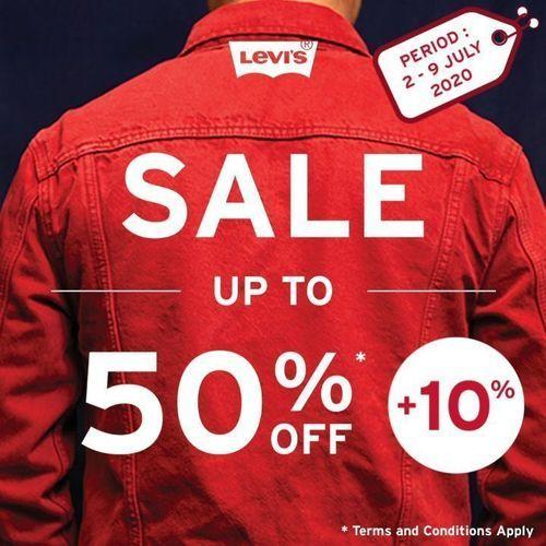 Levi's Sale Up To 50% Off + 10% (26693371) di Kota Jakarta Selatan