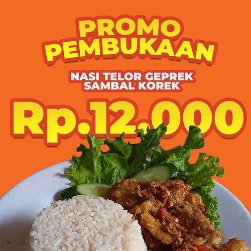 RAJA TELOR GEPREK PROMO PEMBUKAAN RP 12K (26693375) di Kota Jakarta Selatan